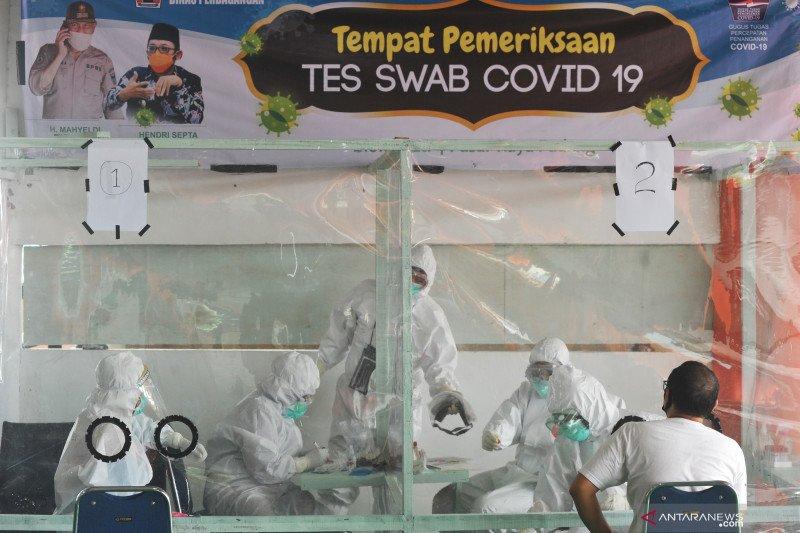 Hasil tes cepat COVID-19 di Rangkasbitung Lebak, dua orang reaktif