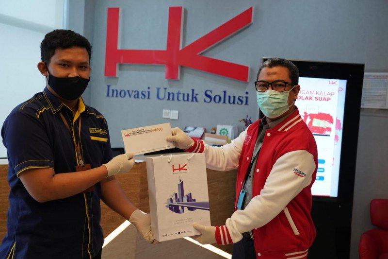 Hutama Karya salurkan donasi kepada masyarakat terdampak pandemi