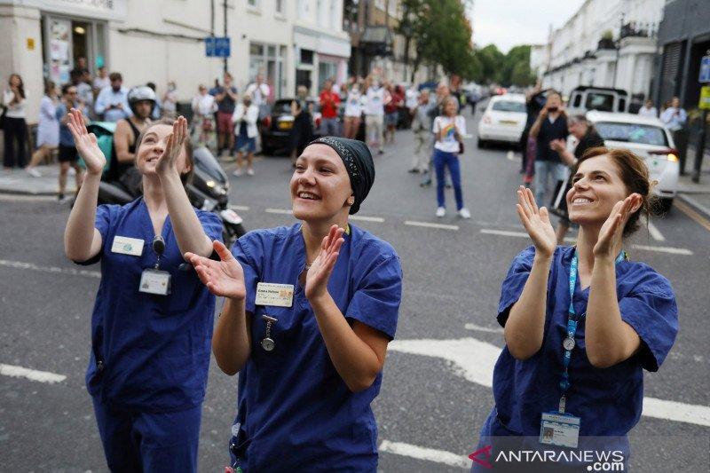 Tenaga medis Indonesia ikut kampanye bahaya COVID-19 di Inggris