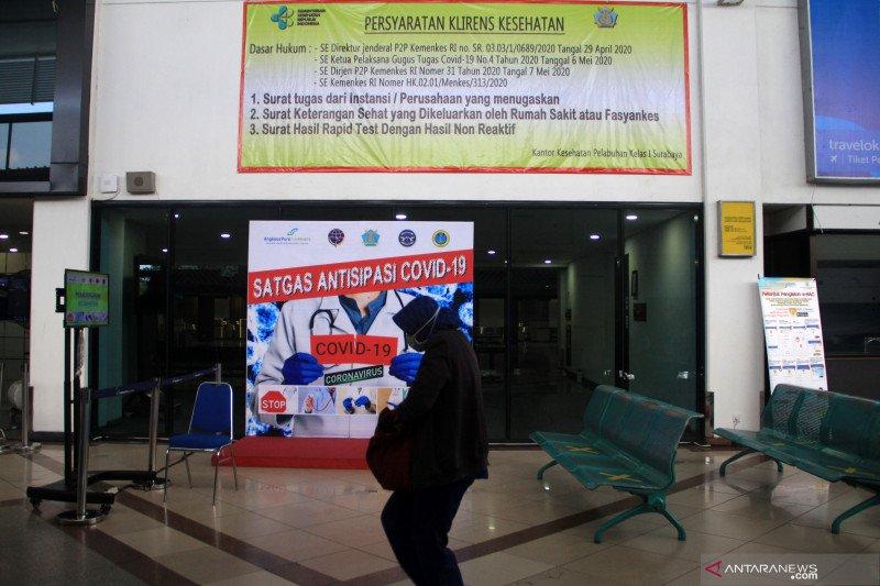 Bandara Juanda sepi penumpang jelang lebaran