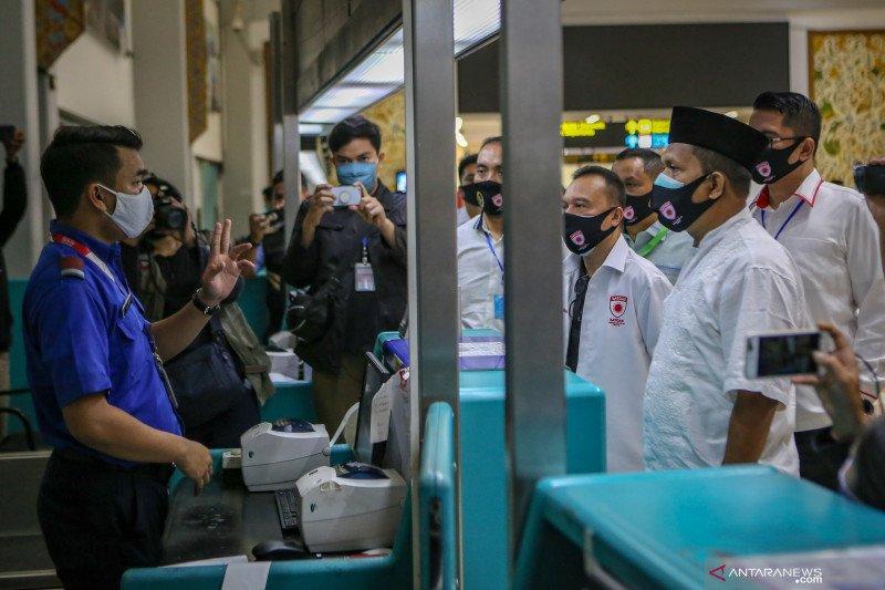 Satgas COVID-19 DPR sidak ke Bandara Soekarno Hatta