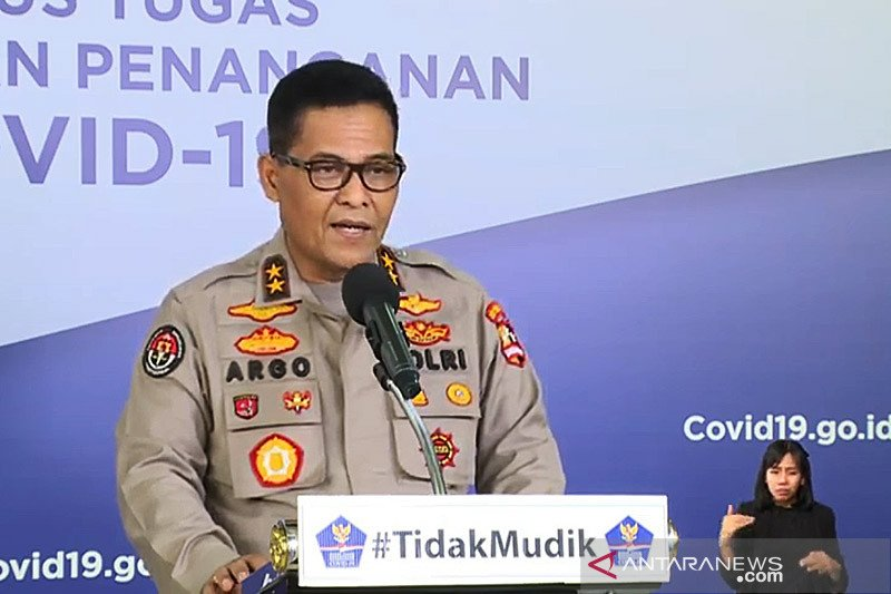 Polri tegaskan Idul Fitri 1441 H di Indonesia berlangsung kondusif