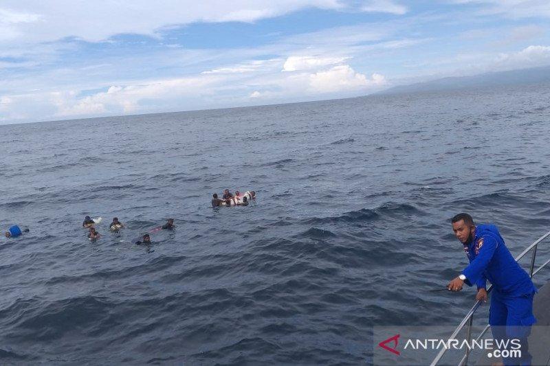 Belasan ABK KM Samena 02 ditemukan terapung di laut