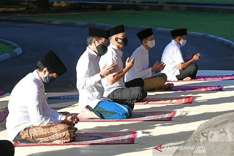 Presiden peringati Idul Fitri di Istana Bogor