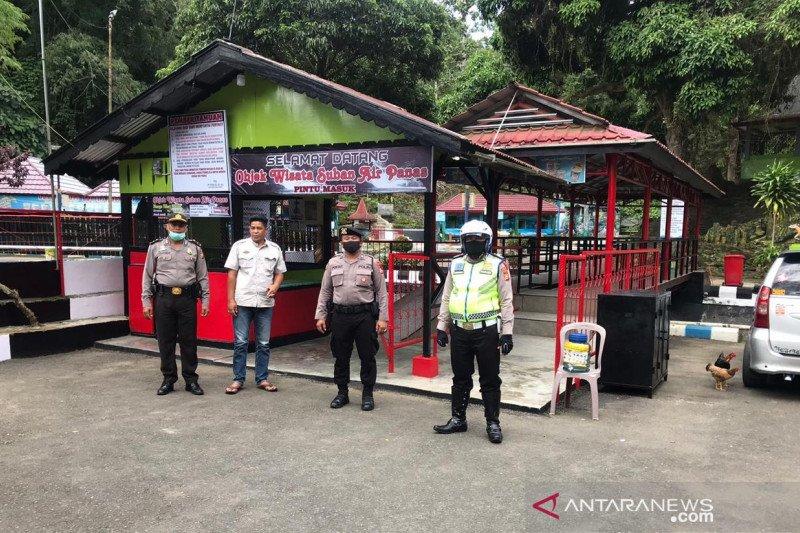 Polisi jaga lokasi wisata di Rejang Lebong, Bengkulu