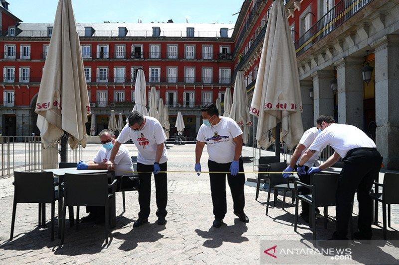 Real Madrid dan Atletico bantu masyarakat yang terkena dampak COVID-19