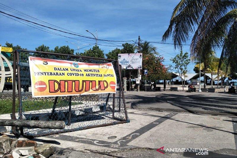 H+1 Lebaran saat pandemi, objek wisata pantai di Mataram-NTB sepi