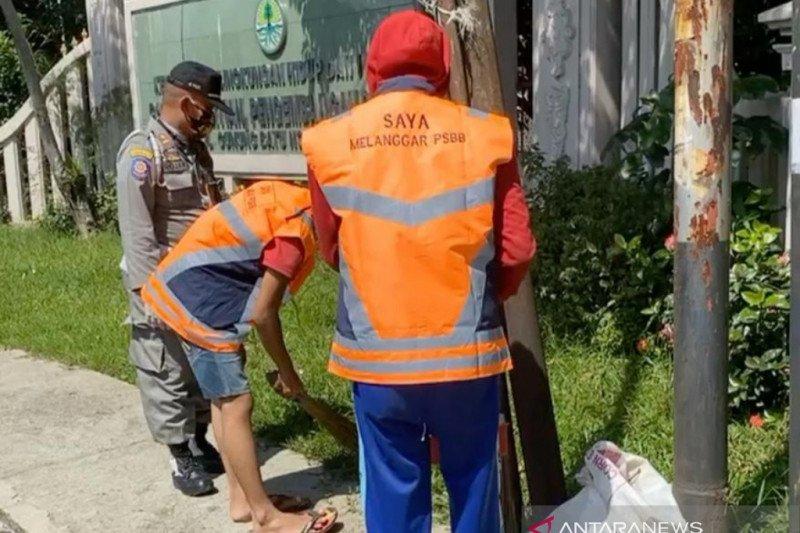 Pemkot Bogor tindak 1.502 pelanggar selama PSBB