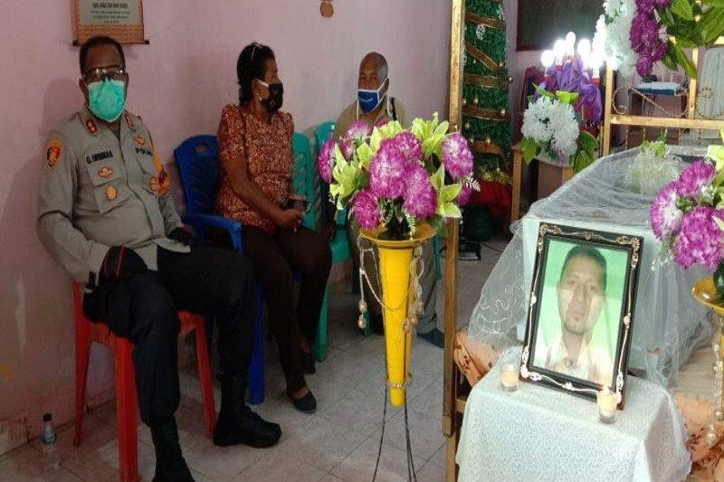 Polisi: Kematian JD akibat terjatuh hindari semprotan tim COVID-19