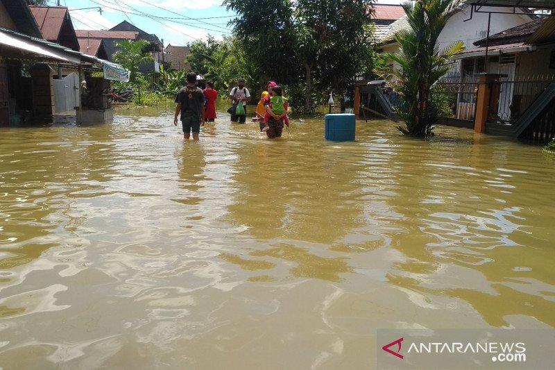 Banjir di Samarinda mulai surut