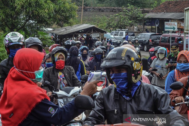Penyekatan arus balik di perbatasan Tasikmalaya-Ciamis