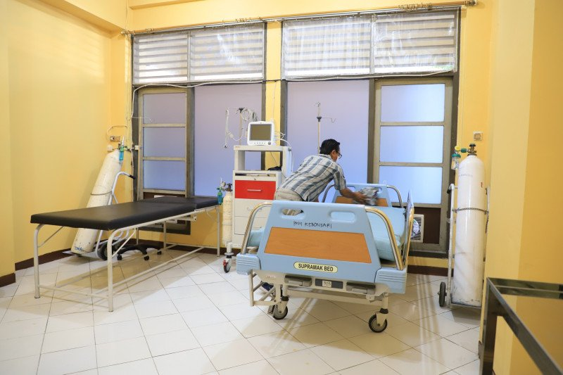 179 kamar di Asrama Haji Surabaya ditempati warga terpapar COVID-19