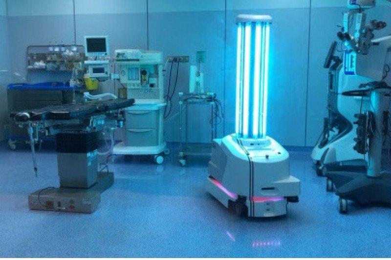 Blue Ocean Robotics raih Penghargaan Kepemimpinan Produk Robot 2020 untuk robot UVD pembunuh virus