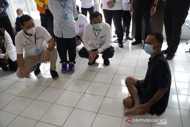 Mensos tinjau Balai Rehabilitasi Sosial eks gelandangan dan pengemis di Bekasi