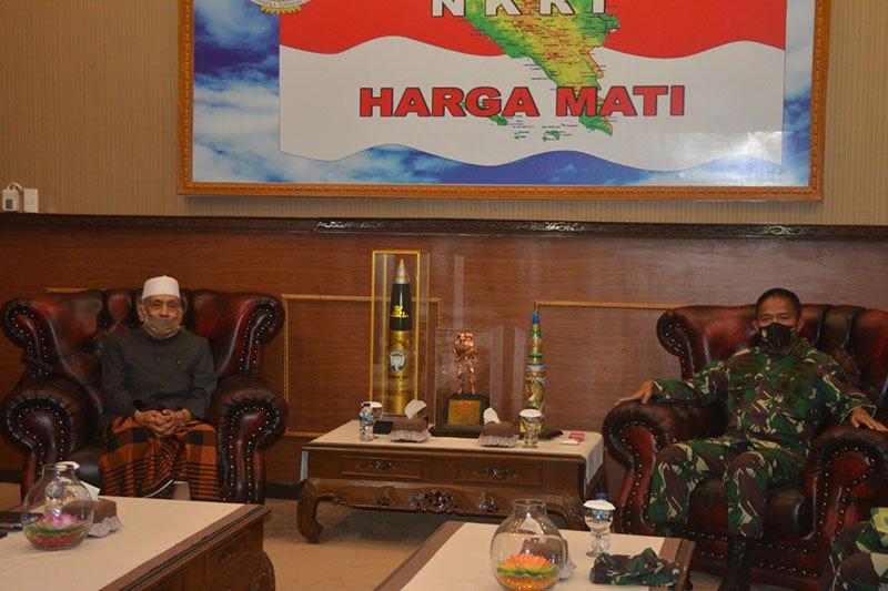 Pangdam Iskandar Muda siap bersinergi dengan ulama Aceh