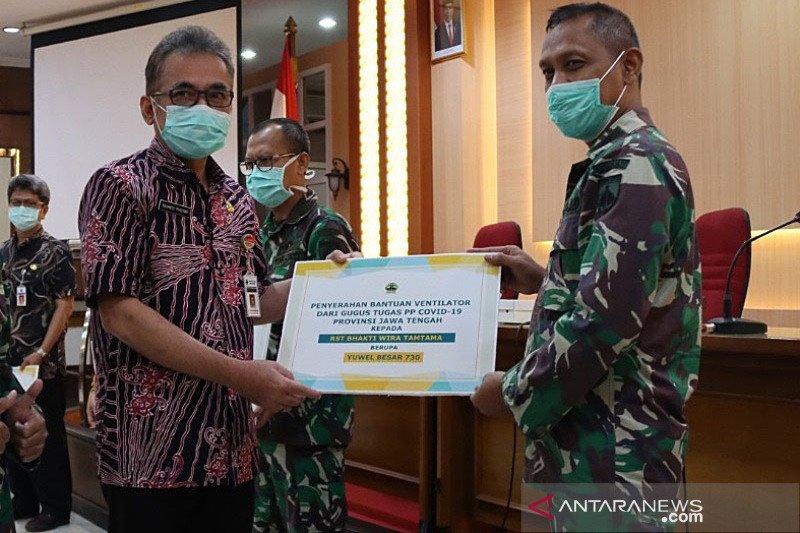 15 rumah sakit di Jateng terima bantuan ventilator