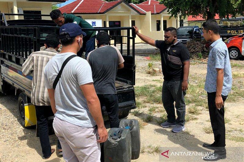 Polres Manggarai Barat NTT sita 700 liter BBM bersubsidi
