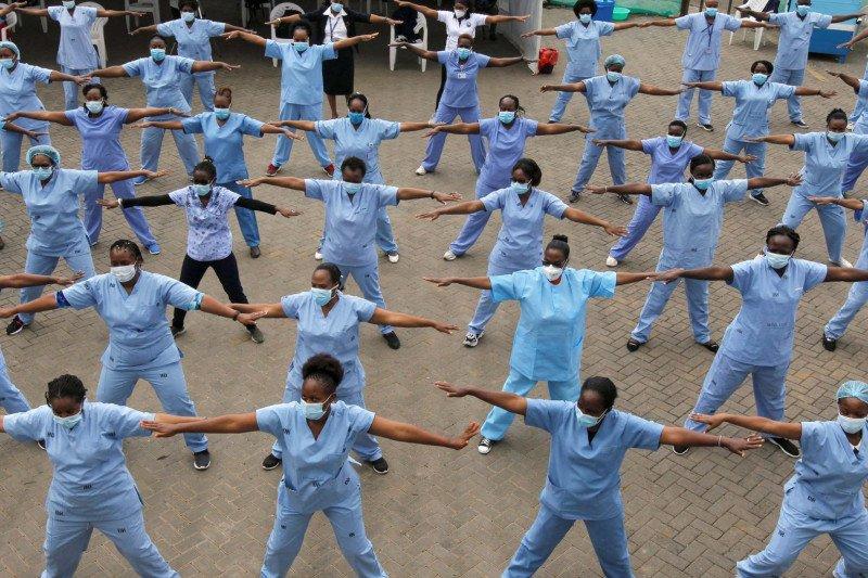 176 dari 2.000 petugas kesehatan Guinea-Bissau positif corona