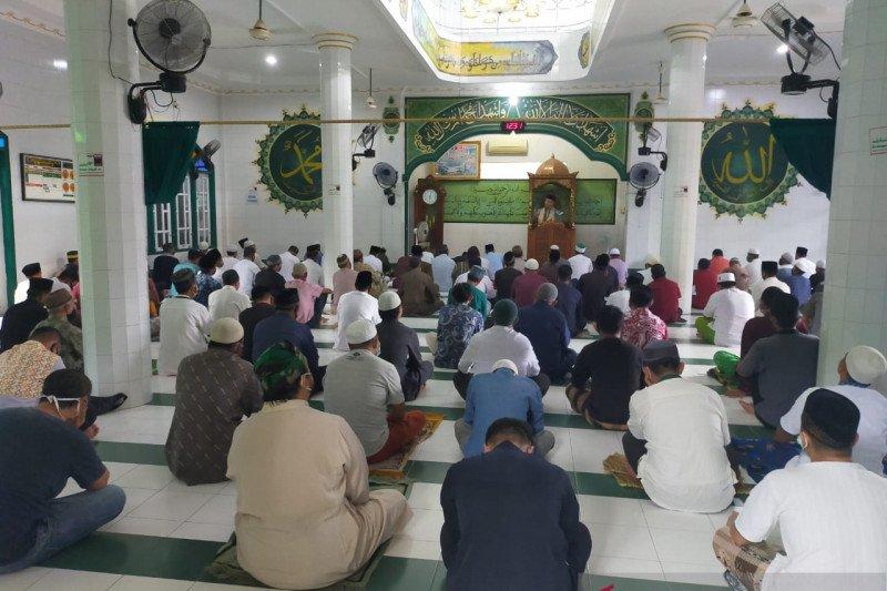 Sejumlah masjid di Nunukan mulai Shalat Jumat berjamaah