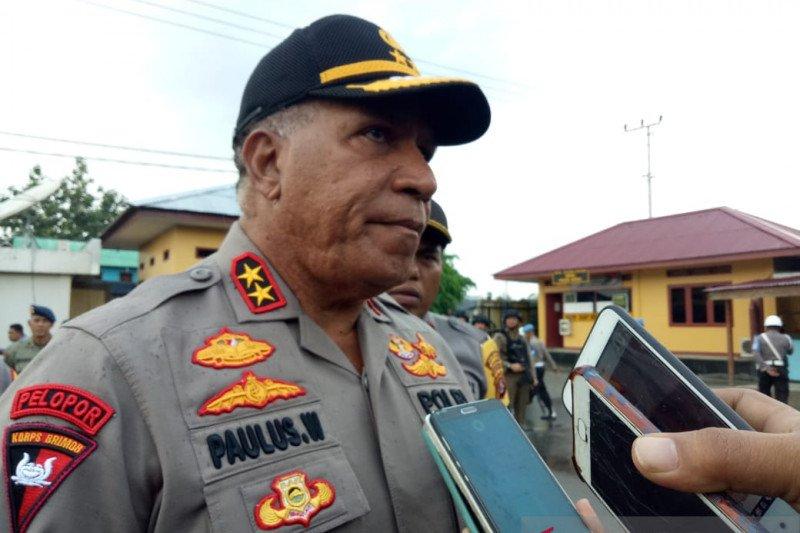 Kapolda Papua terima bantuan sembako dari Jasa Rahardja