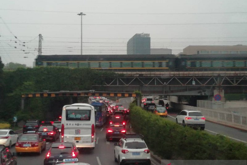 Pembatasan kendaraan bermotor di Beijing kembali diterapkan