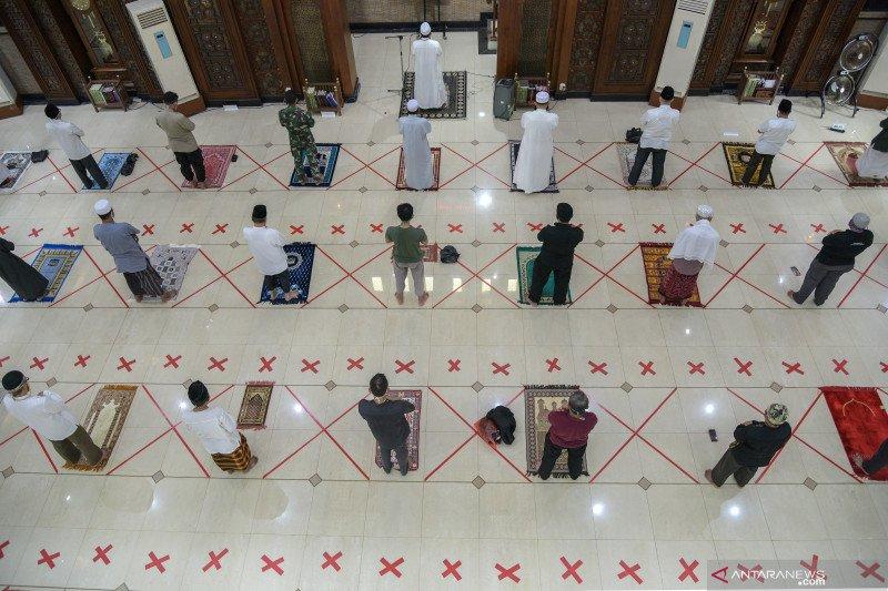 Pemerintah terbitkan panduan aktivitas di rumah ibadah