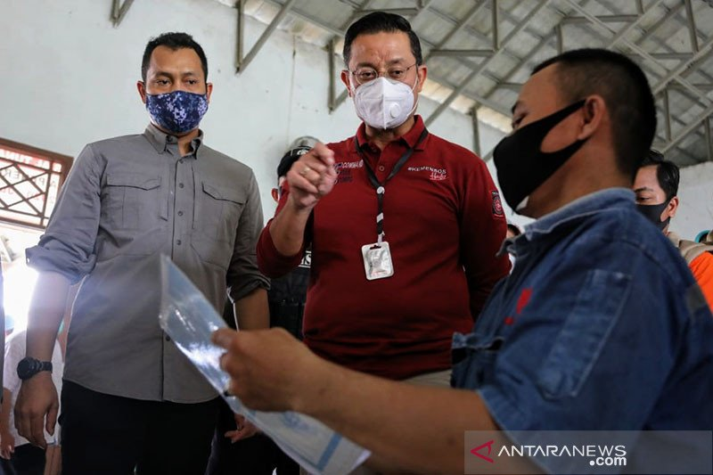 Mensos: Penyaluran BST di Kabupaten Serang berjalan baik
