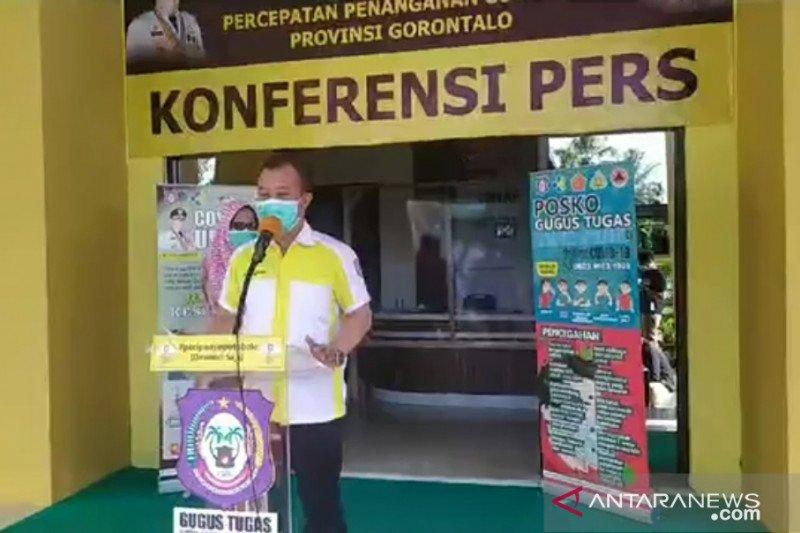 Ada satu tambahan, positif COVID-19 di Provinsi Gorontalo jadi 69