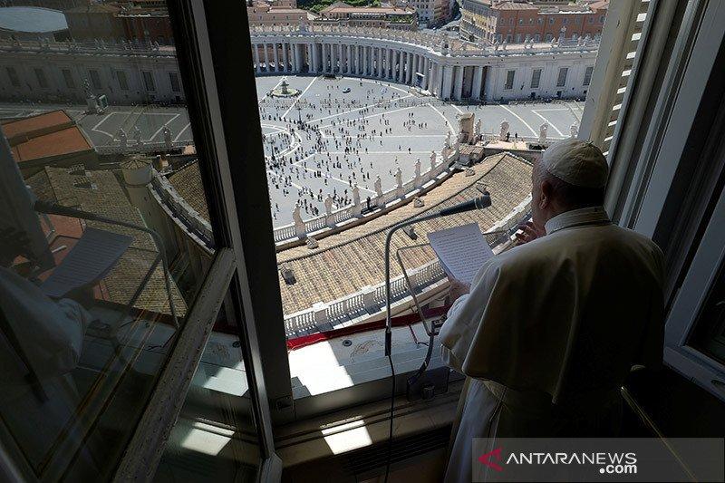 Paus desak rekonsiliasi AS, kecam rasisme dan kekerasan jalanan
