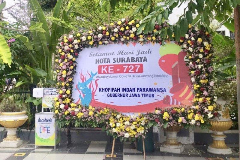 Gubernur Khofifah: Selamat Hari Jadi Ke-727 Surabaya