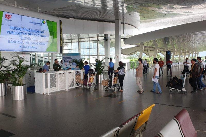 Penumpang arus balik di Bandara Kualanamu H+6 berjumlah 94 orang