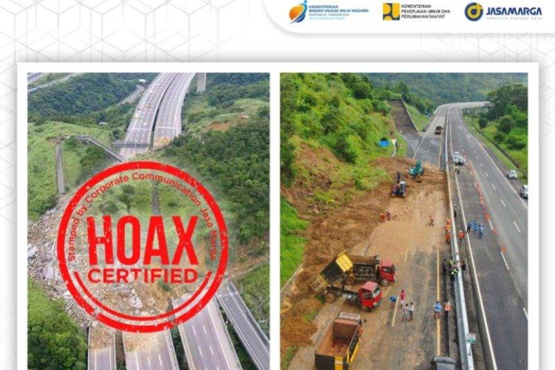 PUPR imbau netizen abaikan foto hoaks longsor di Tol Semarang-Solo