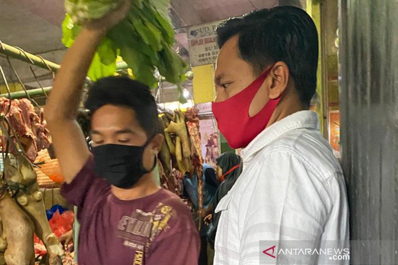 DPRD Surabaya: Banyak pedagang pasar abaikan protokol kesehatan