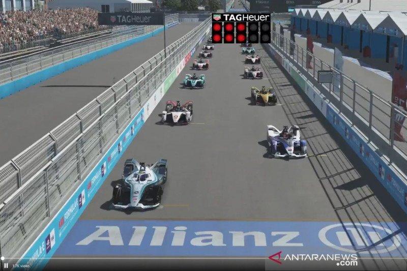 Vandoorne rebut kemenangan seri ke-6 dan puncaki klasemen Race at Home