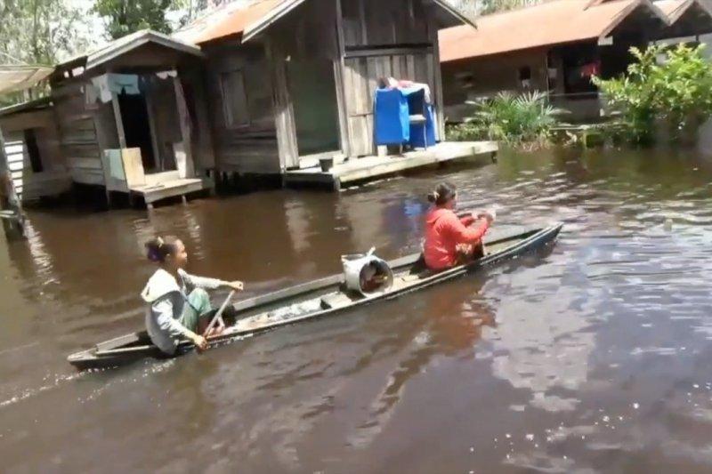 Banjir masih landa 9 kecamatan di Kotawaringin Timur