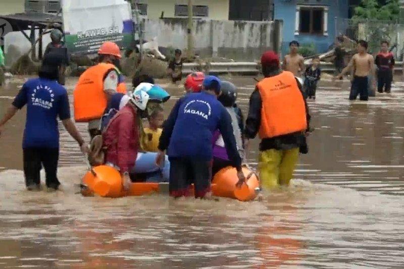 Ratusan rumah di Kota Cilegon terendam banjir