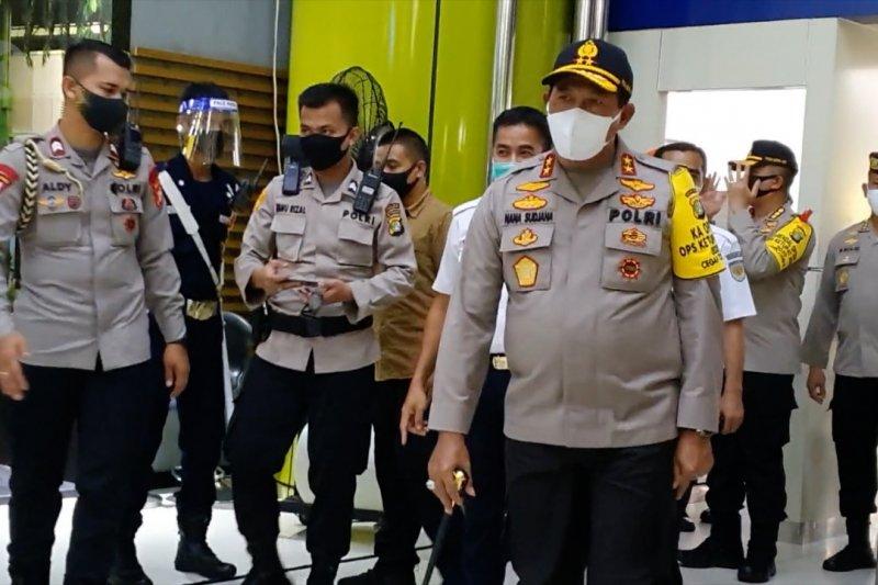Kapolda Metro Jaya tinjau kesiapan Stasiun Gambir jelang Normal Baru
