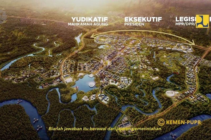 Proyek Ibu Kota Negara masuk RKP 2021 tapi tidak ditekankan