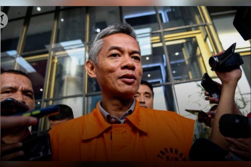 Wahyu Setiawan didakwa terima suap Rp600 juta