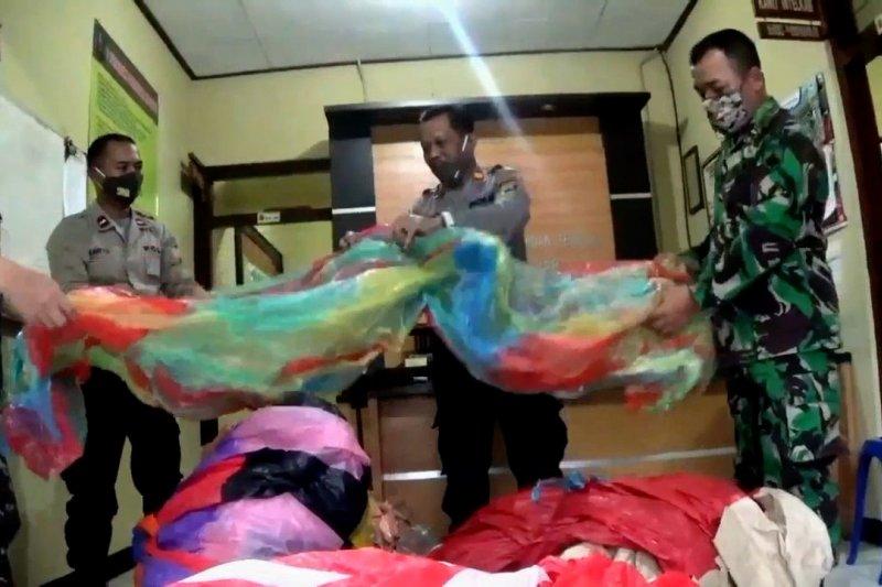 Polisi amankan 6 balon udara di Wonosobo