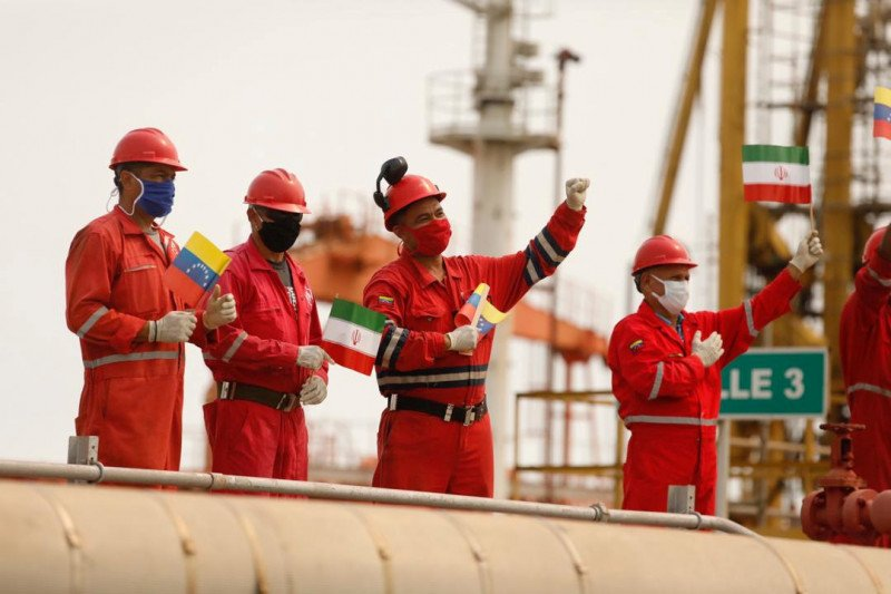 AS sita kiriman empat tanker minyak Iran untuk Venezuela