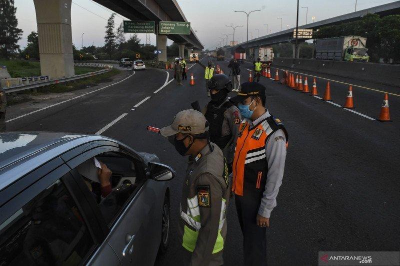 H+6 Lebaran, Jasa Marga catat 422 ribu kendaraan ke Jakarta