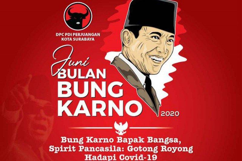 PDIP Surabaya gelar lomba foto dan bagi buku di Bulan Bung Karno