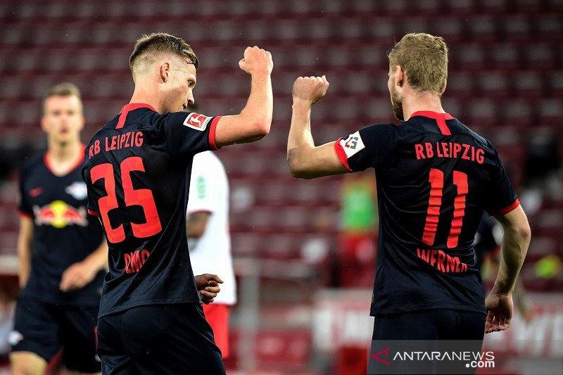 Tundukkan Cologne, Leipzig amankan kembali posisi ketiga klasemen