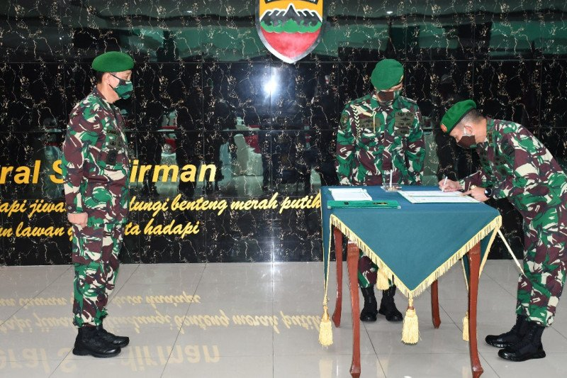 Brigadir Jenderal TNI Gamal H Putro jadi inspektur Kodam I/BB