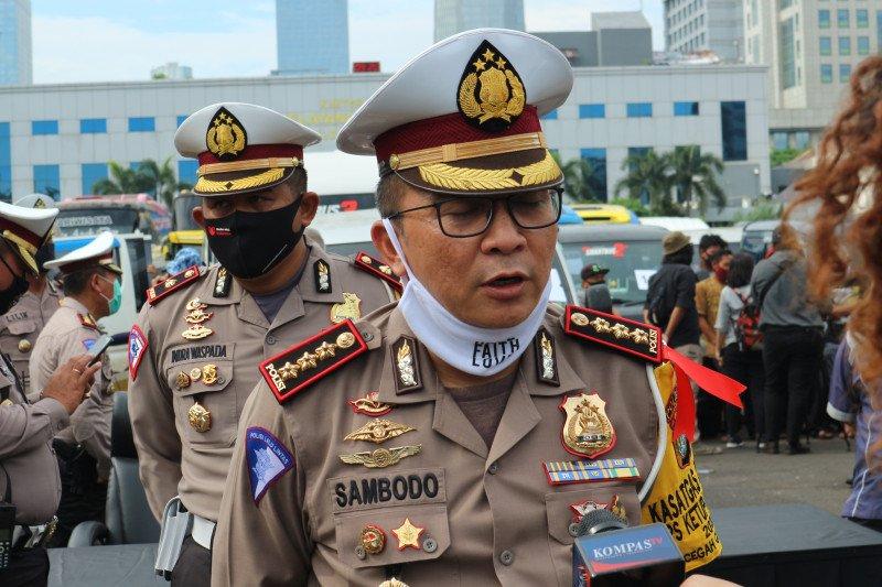 Polda Metro Jaya berlakukan ganjil genap usai PSBB