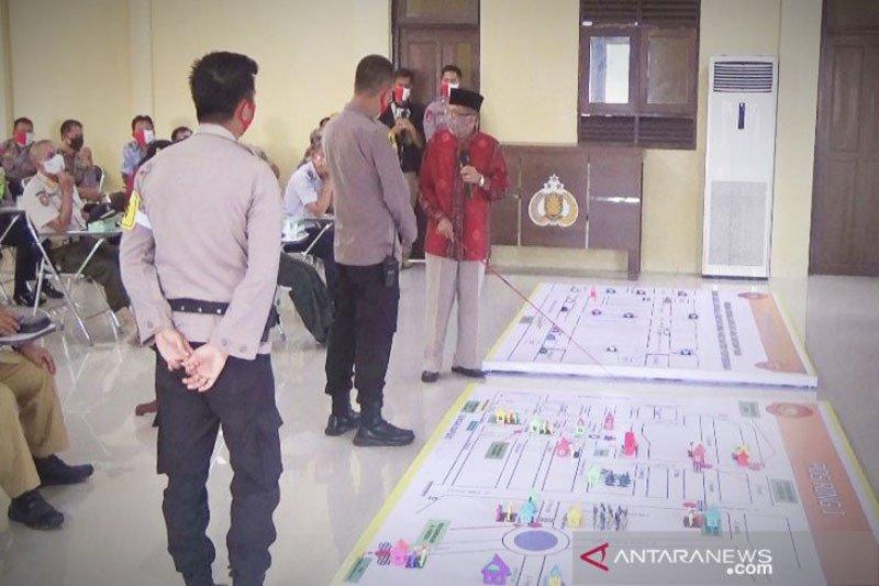 Polres Kapuas kerahkan 420 personel amankan pelaksanaan PSBB