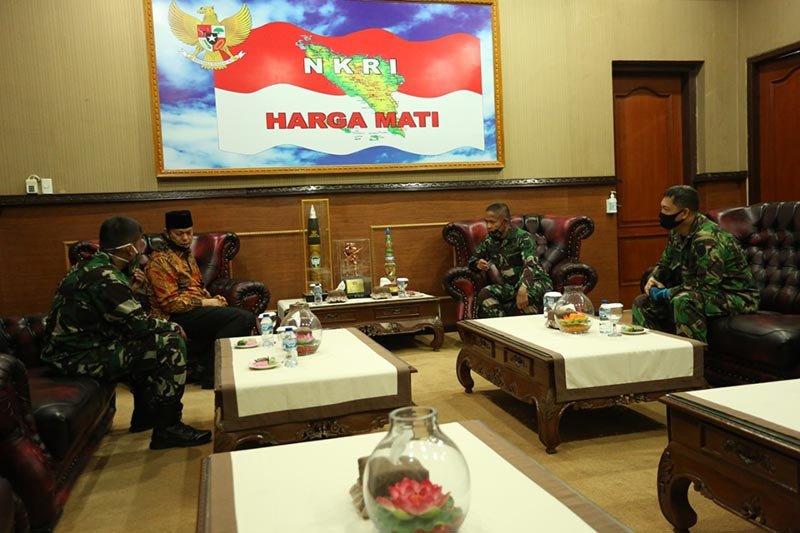 Gayo Lues minta dukungan TNI tingkatkan ketahanan pangan