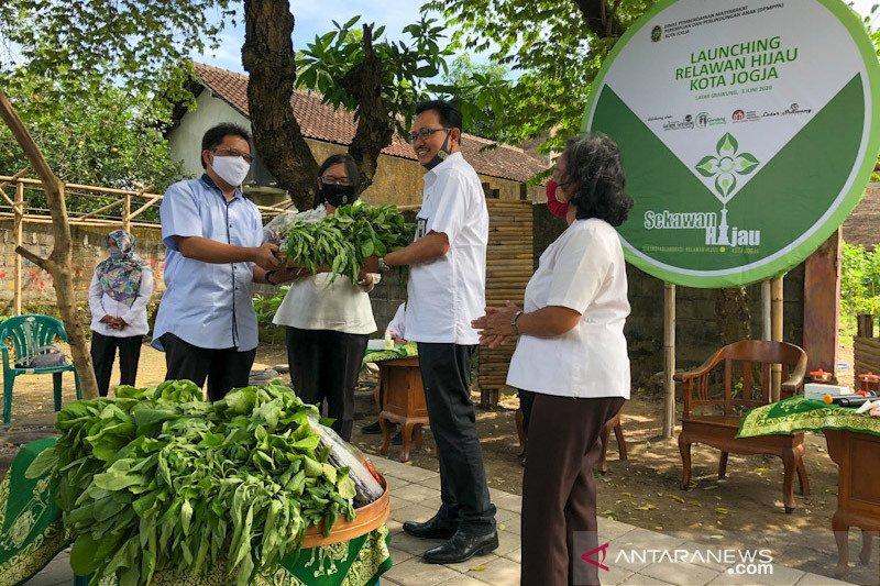 Relawan Hijau bentuk gotong royong ketahanan pangan warga Yogyakarta
