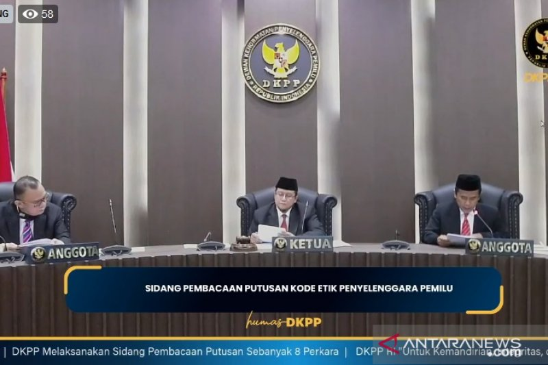 DKPP akan gelar sidang kode etik penyelenggara pemilu pada Rabu
